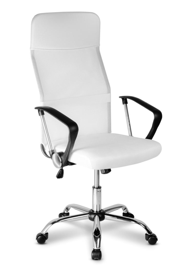 ADK TRADE Kancelářská židle Komfort bílá