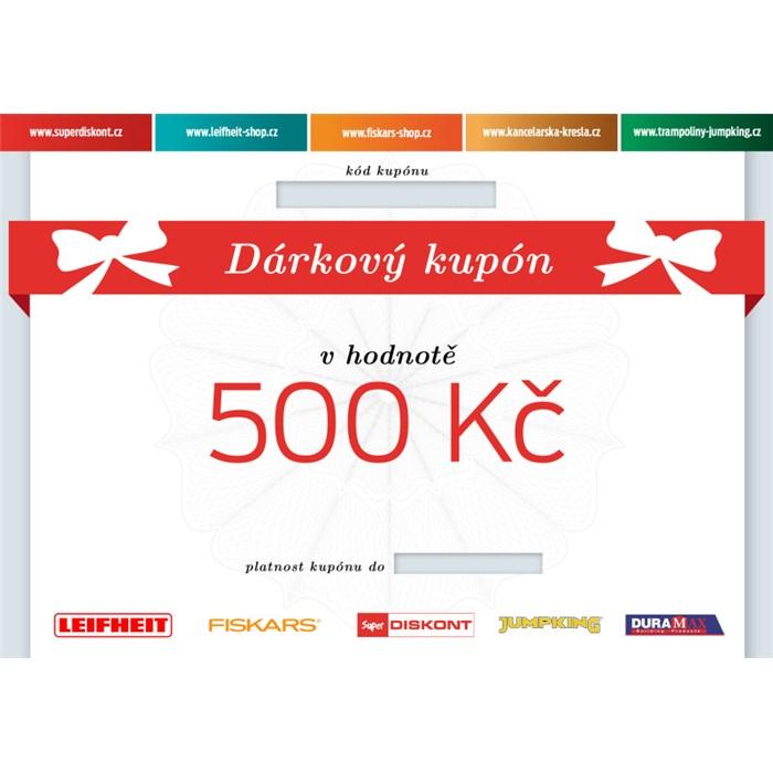Superdiskont, s.r.o. Dárkový kupón 500 Kč