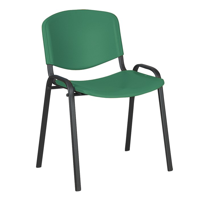 ANTARES Konferenční židleTaurus PN ISO plast zelený