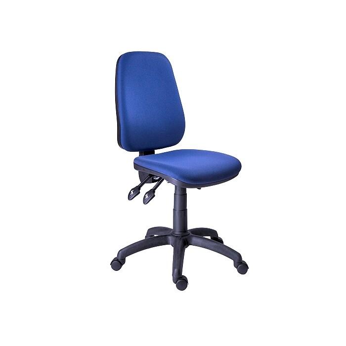 ANTARES Kancelářská židle 1140 ASYN modrá + područky BR 07 Antares