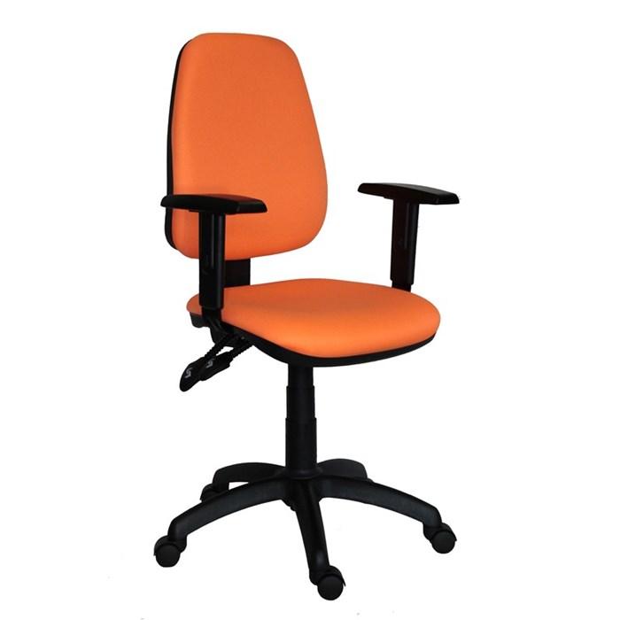 ANTARES Kancelářská židle 1140 ASYN s područkami - oranžová Antares