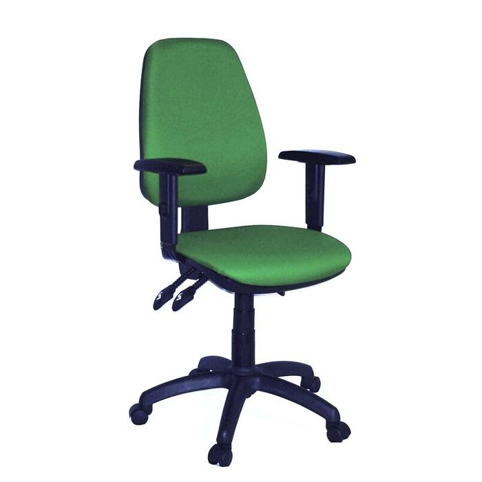 ANTARES Kancelářská židle 1140 ASYN s područkami - zelená Antares