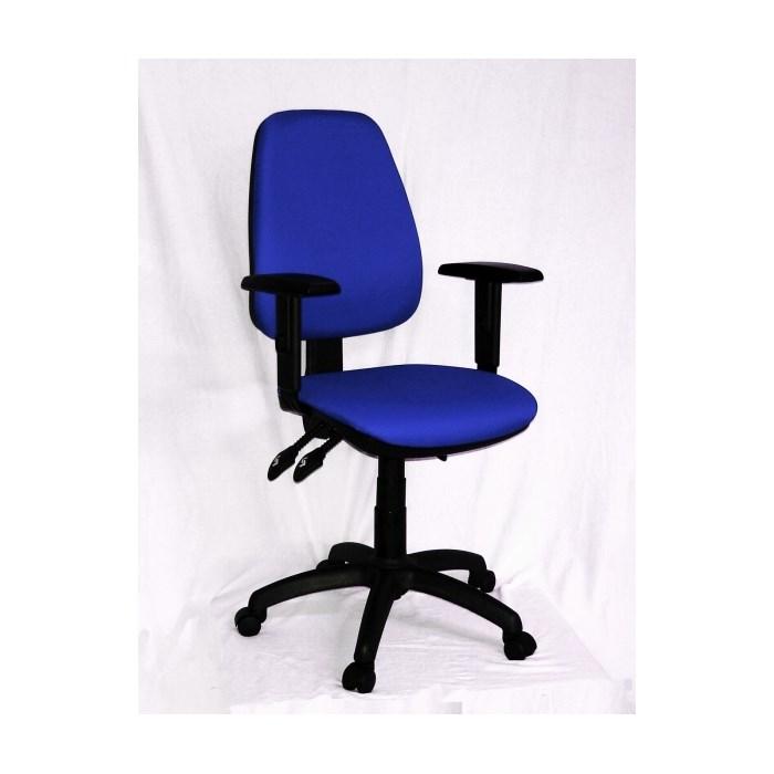 ANTARES Kancelářská židle 1140 ASYN s područkami - modrá Antares