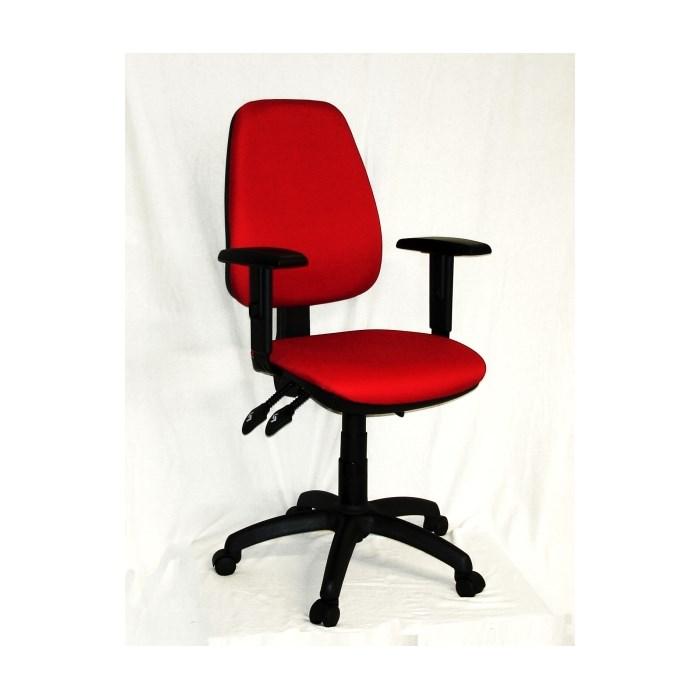 ANTARES Kancelářská židle 1140 ASYN s područkami - červená Antares