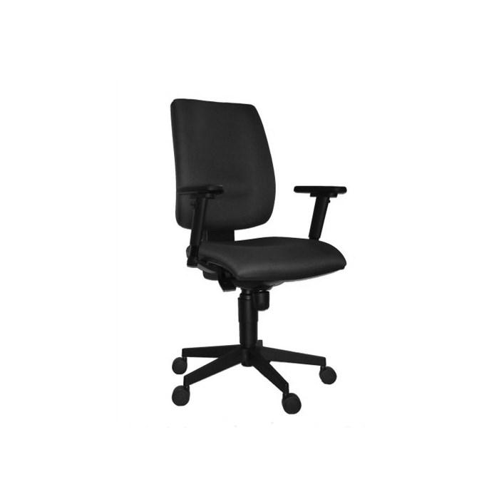 ANTARES Kancelářská židle 1380 SYN FLUTE černá s područkami AR08 - 3 roky záruka