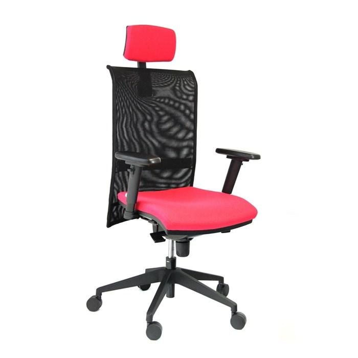 ANTARES Kancelářská židle 1580 Gala NET PDH červená Antares