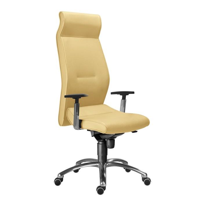 ANTARES Kancelářská židle 1800 SYN LEI kůže béžová Antares