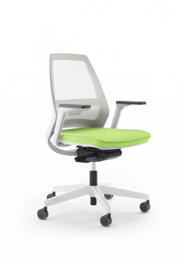ANTARES Kancelářská židle 1890 SYN Infinity NET BÍLÁ Antares