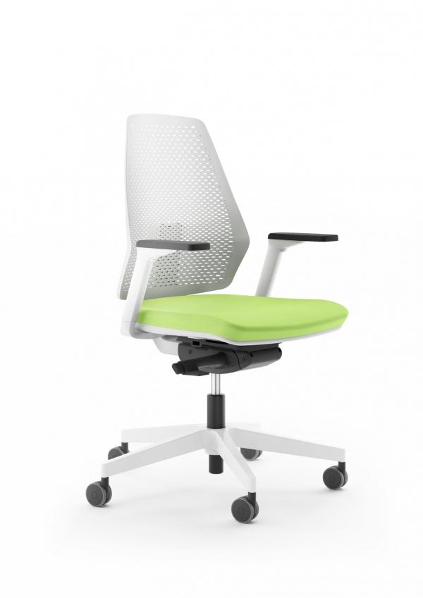 ANTARES Kancelářská židle 1890 SYN Infinity PERF BÍLÁ Antares