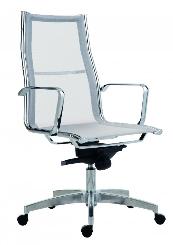 ANTARES Kancelářská židle 8800 KASE MESH bílá - vysoká záda Antares