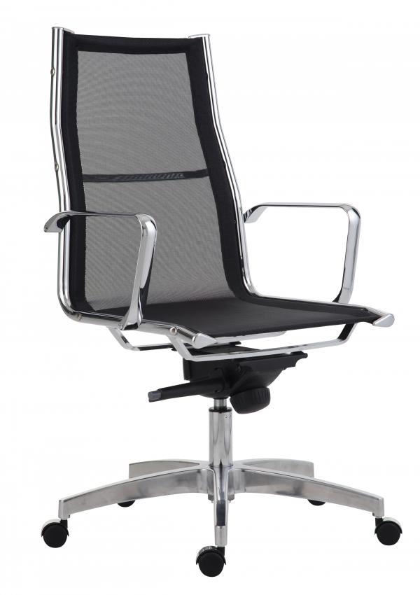 ANTARES Kancelářská židle 8800 KASE MESH černá - vysoká záda Antares