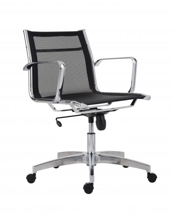 ANTARES Kancelářská židle 8850 KASE MESH černá - nízká záda Antares