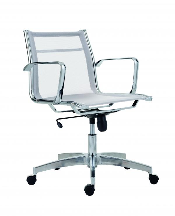 ANTARES Kancelářská židle 8850 KASE MESH bílá - nízká záda Antares