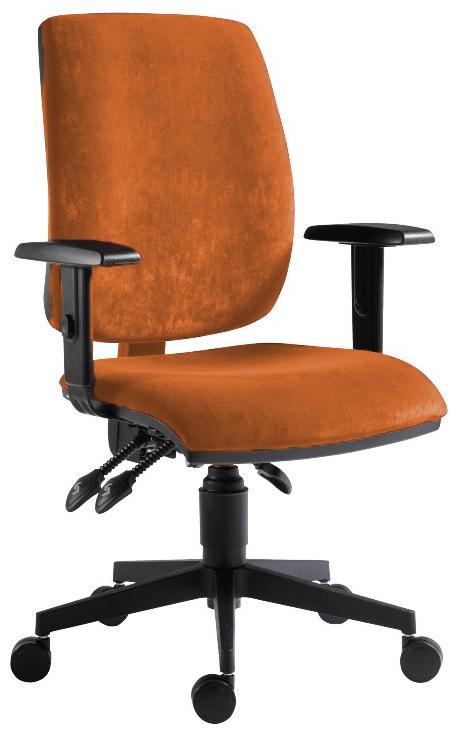 ANTARES Kancelářská židle FLUTE Antares 1380 ASYN MF03 (bez područek)