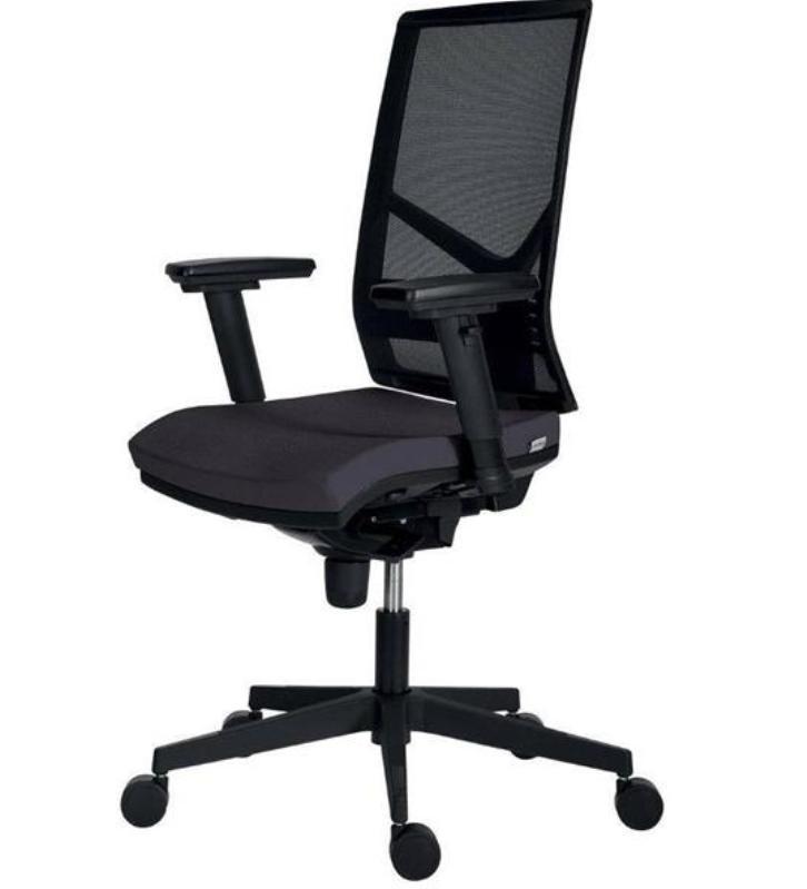 ANTARES Kancelářská židle Antares 1850 SYN Omnia, tm. šedá, záruka 5 let