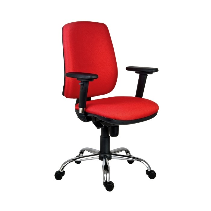 ANTARES Kancelářská židle ATHEA 1640 ASYN CR červená Antares