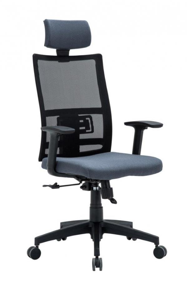 ANTARES Kancelářská židle MIJA šedá Antares