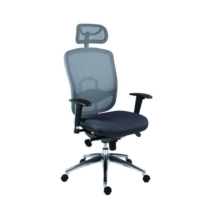 ANTARES Kancelářská židle OKLAHOMA PDH šedá Antares