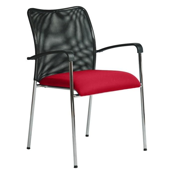 ANTARES Konferenční židle SPIDER červená Antares
