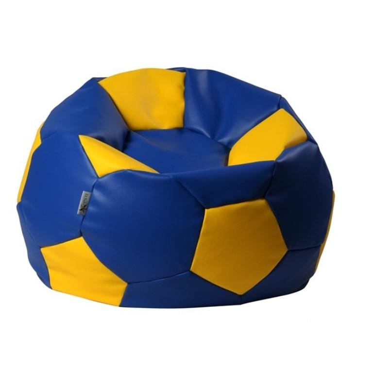 ANTARES Sedací pytel Antares EUROBALL BIG XL modro-žlutý kortexin