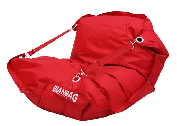 BeanBag Sedací pytel BeanBag 189x140 comfort scarlet rose