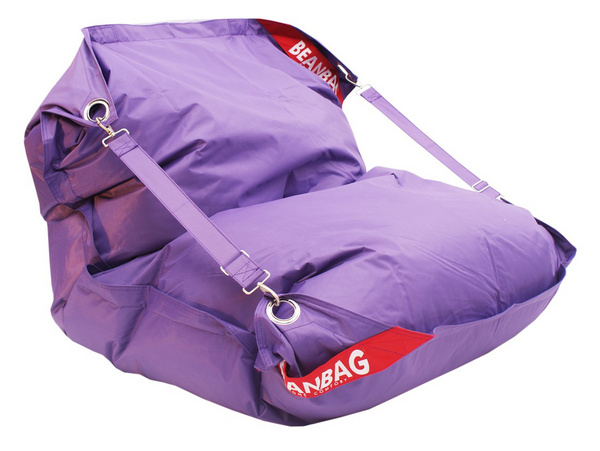 BeanBag Sedací pytel BeanBag 189x140 comfort violet