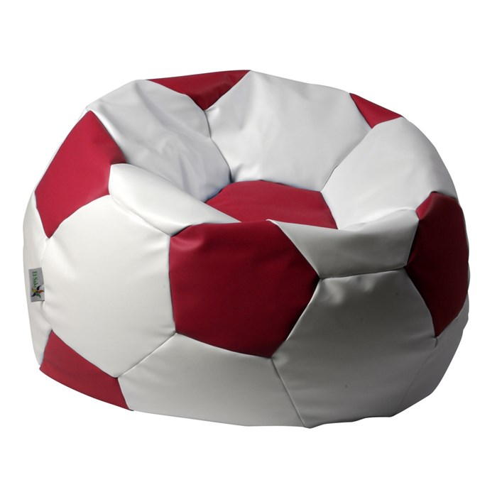 ANTARES Sedací pytel EUROBALL BIG XL bílo-červený Antares