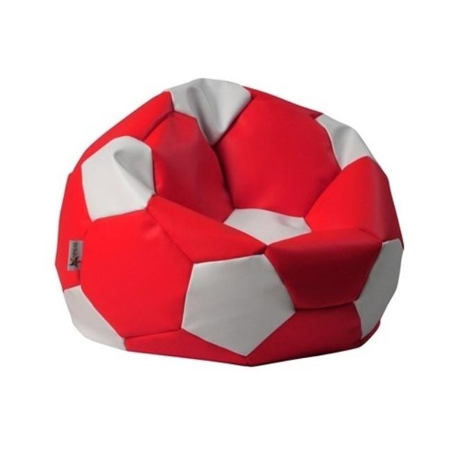 ANTARES Euroball BIG SK 2 bílá koženka, SK 7 červená koženka