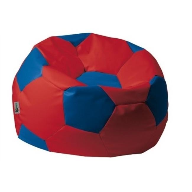 ANTARES Sedací pytel EUROBALL BIG XL červeno-modrý Antares