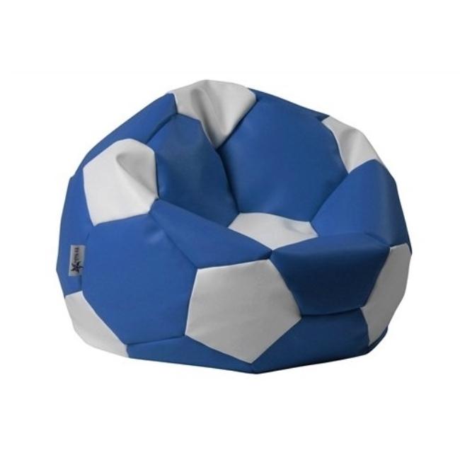 ANTARES Sedací pytel EUROBALL BIG XL modro-bílý Antares