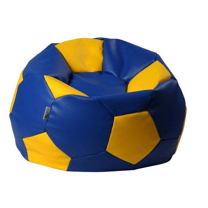 ANTARES Sedací pytel EUROBALL BIG XL modro-žlutý Antares