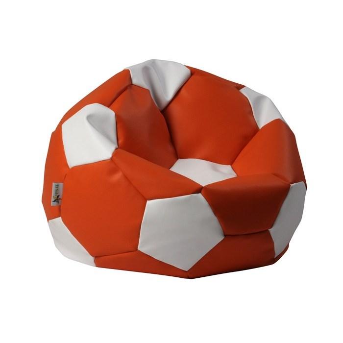ANTARES Sedací pytel EUROBALL BIG XL oranžovo-bílý Antares