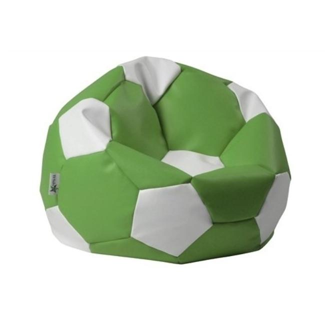 ANTARES Sedací pytel EUROBALL BIG XL zeleno-bílý Antares