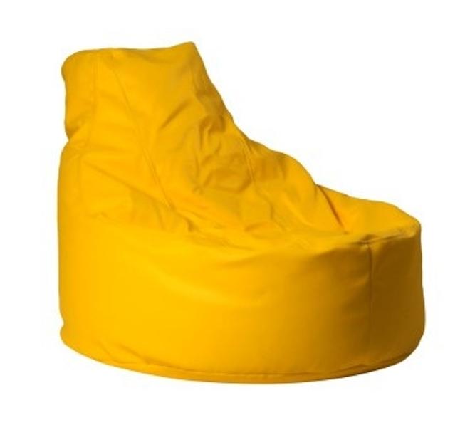 ANTARES Sedací pytel MOLLY, umělá kůže, žlutá Antares
